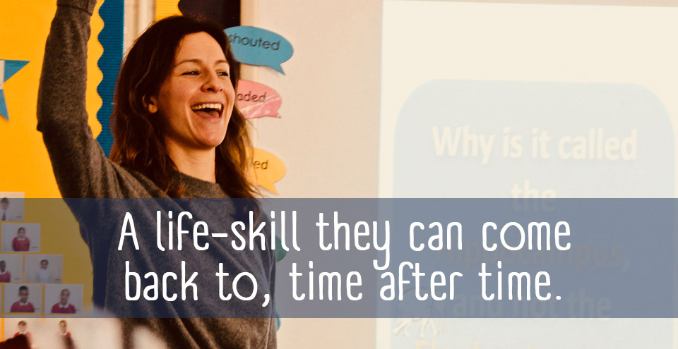 Bring mindfulness to your school: a life-skill they can come back to, time after time.