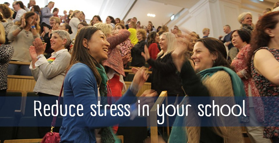 Wellbeing Workshops: Reduce stress in your school